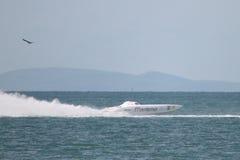 Campeonatos a pouca distância do mar de Superboat Fotografia de Stock