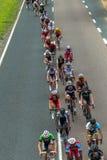 Campeones del camino de ciclo Imagenes de archivo