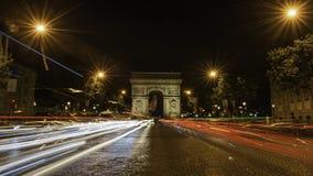 Campeones Elysees París Imágenes de archivo libres de regalías
