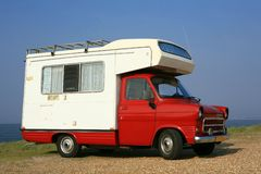 Camper Stock Image