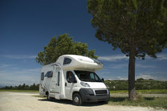 Camper car Royalty Free Stock Images