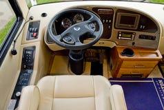 Camper car driver seat Stock Image