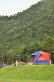 Camper dans le nationalpark Images libres de droits