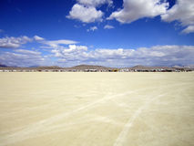 Camper de désert Photos libres de droits