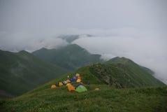camper de montagne Image stock