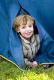 Camper de première fois Photos stock