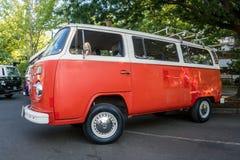 Camper del bus di Volkswagen fotografia stock libera da diritti