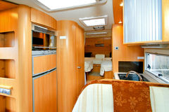 Camper interior Stock Images