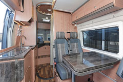 Camper interior Stock Image