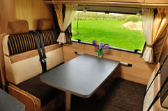 Camper interior Royalty Free Stock Image