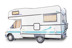 Camper isolated view Stock Image