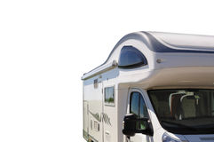 Camper isolated on white Stock Photo