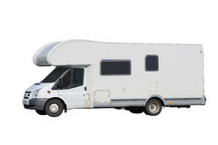 Camper isolated on a white background Stock Photo