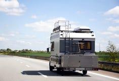 camper mobile travel Στοκ φωτογραφίες με δικαίωμα ελεύθερης χρήσης