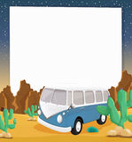 Camper paper Royalty Free Stock Image