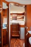 Camper (RV, motorhome, caravan) interior Royalty Free Stock Image