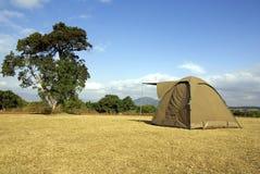 Camper sauvage Photos libres de droits