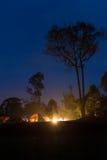 camper sauvage Image libre de droits