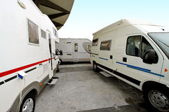 Camper site Royalty Free Stock Photography