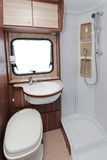 Camper toilet Royalty Free Stock Photos