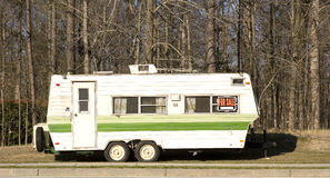 Camper Trailer for Sale Stock Images