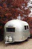 camper trailer vintage Στοκ φωτογραφία με δικαίωμα ελεύθερης χρήσης