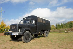 Camper Truck - Magirus Deutz Royalty Free Stock Photos