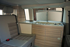 Camper van interior Royalty Free Stock Photos