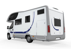 Camper Van Isolated Royalty Free Stock Images