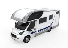 Camper Van Isolated Royalty Free Stock Image
