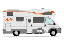 Camper van Royalty Free Stock Image