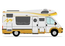 Camper van Royalty Free Stock Photography