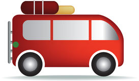 Camper van symbol Royalty Free Stock Photos