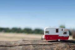 Summer camper van trip Royalty Free Stock Photos