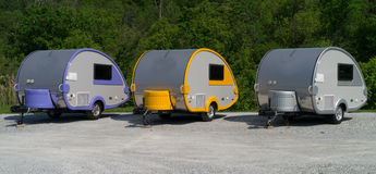Campers Stock Image