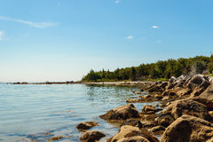 Campers Beach (Port Joli Harbour) Stock Images