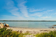 Campers Beach (Port Joli Harbour) Royalty Free Stock Image