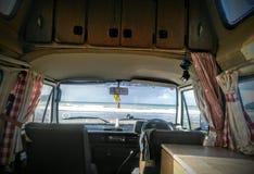Campervan生活vanlife 图库摄影