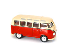 Campervan. A volkswagen campervan, retro styled isolated on a white background stock photos