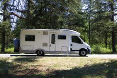 Campervan Stock Photo