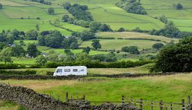 Campervan, English Lake District Stock Photography