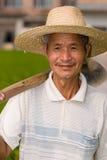 Campesino chino Imagen de archivo libre de regalías