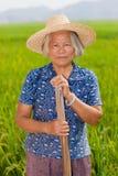 Campesino chino Foto de archivo libre de regalías