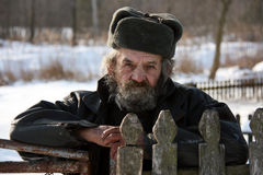 Campesino ucraniano Fotos de archivo libres de regalías