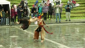 Campesinos andinos que celebran a Inti Raymi Or Festival Of The Sun metrajes
