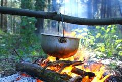 campfire Royaltyfria Bilder
