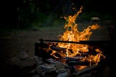Campfire 2 Stock Photo