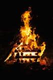 campfire 2 Royaltyfria Bilder