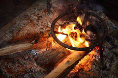 Campfire Royalty Free Stock Photography