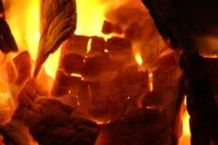 Campfire. Close-up of a campfire Stock Photos